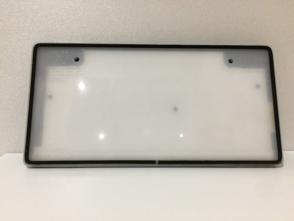 JDM Japanese License Plate Light Box LED White Front View 6