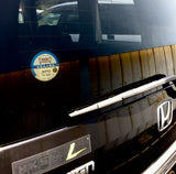 Japanese Parking Sticker Permit Inside Honda Step Wagon