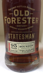 "Old Forester ""Statesman"" Bourbon"