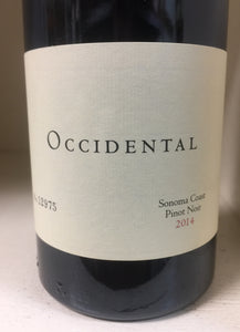 "2014 Occidental ""Sonoma Coast"" Pinot Noir"