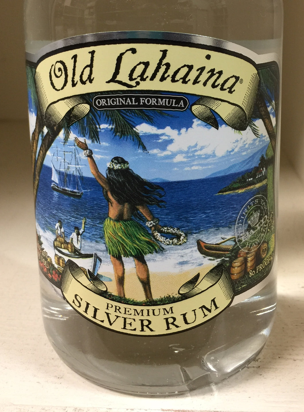 Old Lahaina Silver Rum