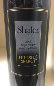 "2013 Shafer ""Hillside Select"" Cabernet Sauvignon"