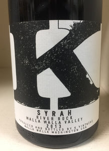 "2013 K ""River Rock"" Syrah"