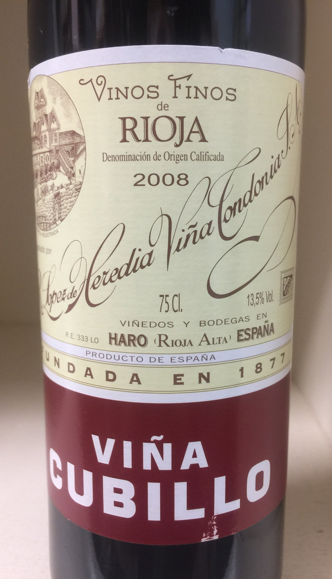2008 Lopez de Heredia