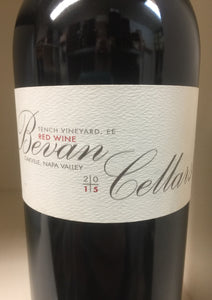 "2015 Bevan Cellars ""EE"" Tench Vineyard Red"
