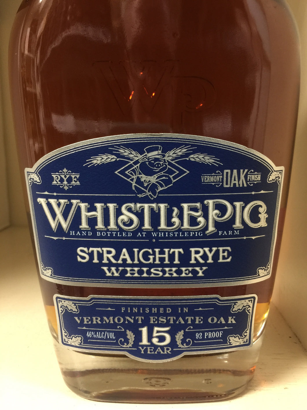 Whistle Pig 15 Year Straight Rye