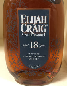 Elijah Craig 18 Year Old Single Barrel Bourbon