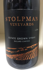 "2016 Stolpman Syrah ""Estate"""