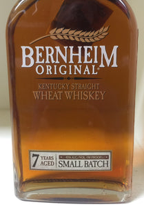 Bernheim Original Wheat Whiskey 7 Year Old