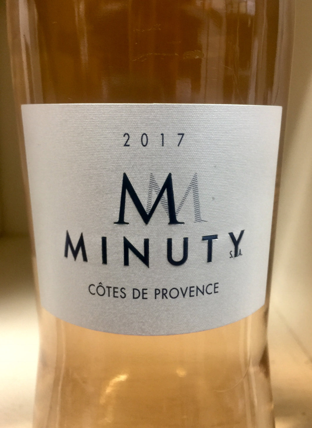 2017 Minuty Rose