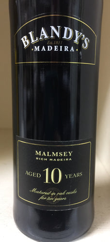 Blandy's 10 Year Malmsey Madeira - 500ml