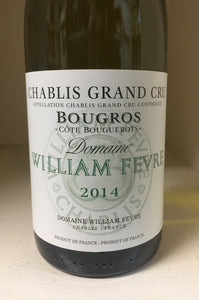 "2014 William Fevre ""Bougros"" Chablis"