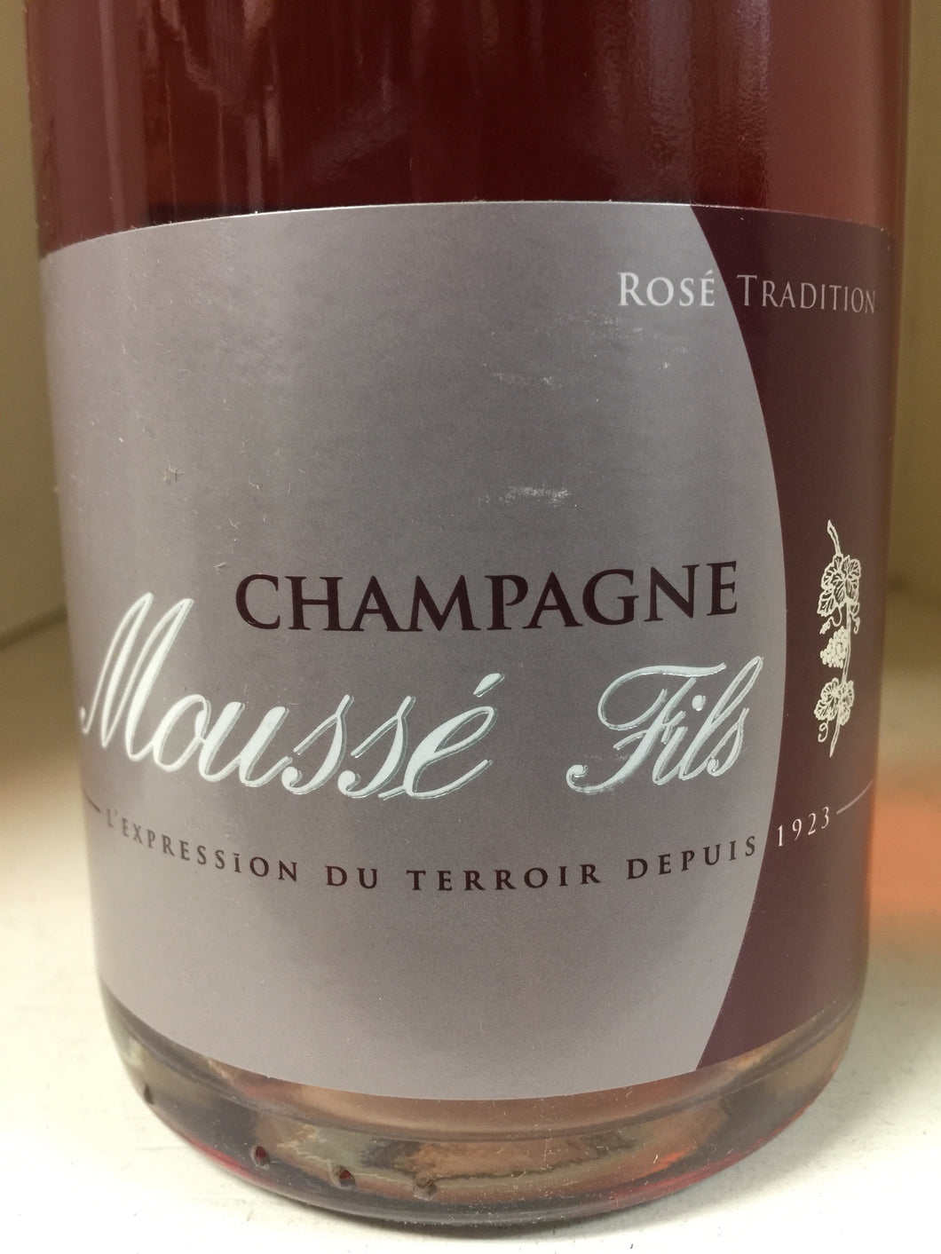 N.V. Mousse Fils Brut Rose Tradition