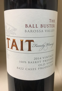 "2014 Tait ""Ball Buster"" Shiraz"