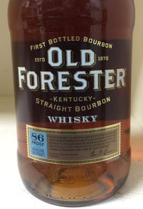 Old Forester Straight Bourbon Whiskey