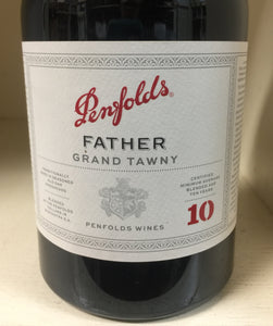 "Penfolds ""Father"" 10 Year Tawny"