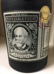"Diplimatico ""Exclusiva"" Rum"