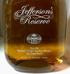 Jefferson's Reserve Bourbon