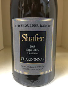 "2015 Shafer ""Red Shoulder Ranch"" Chardonnay"