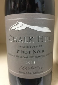 "2015 Chalk Hill ""Estate"" Pinot Noir"
