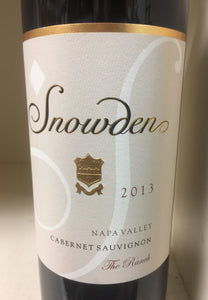 "2013 Snowden ""The Ranch"" Cabernet Sauvignon"