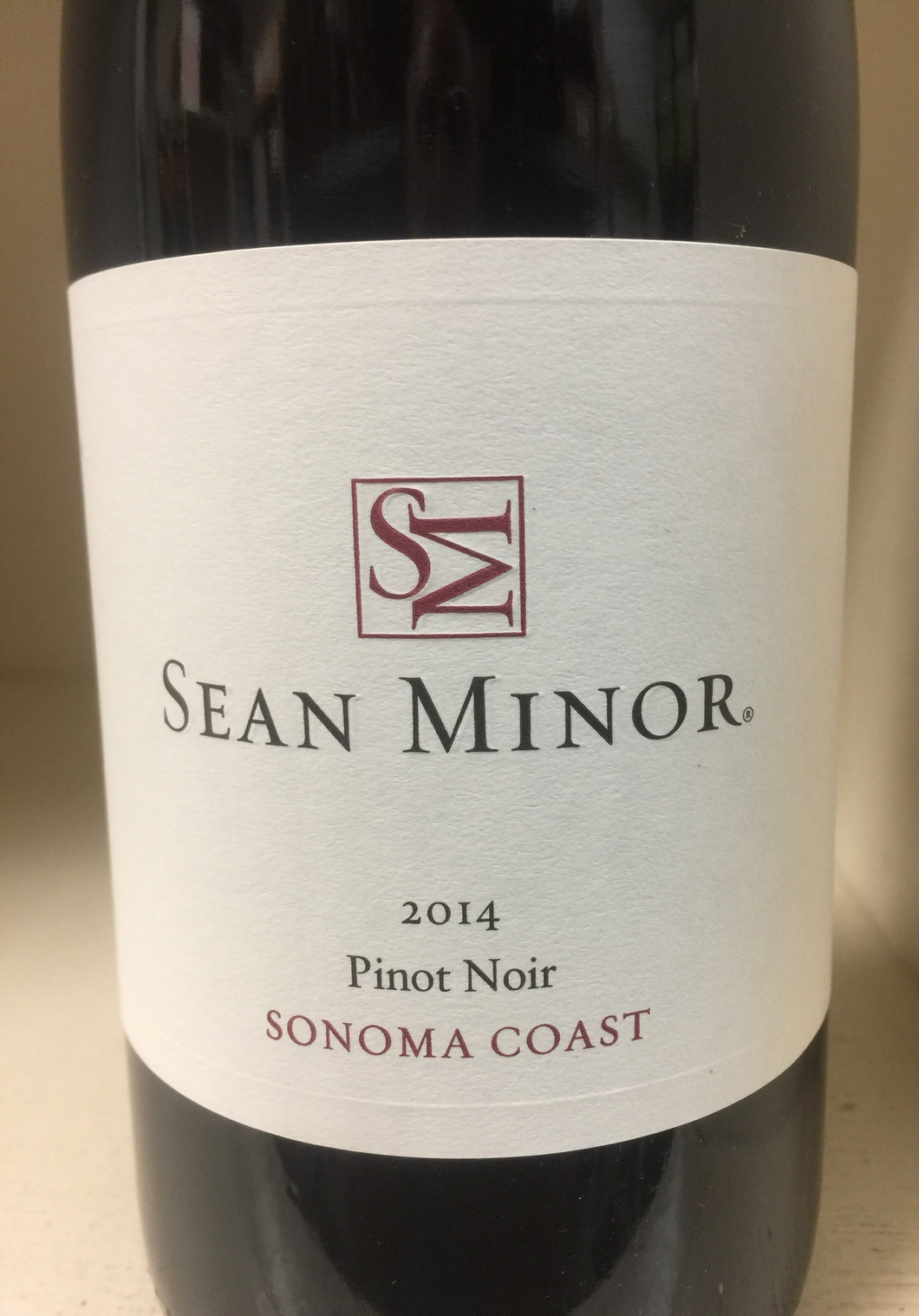 2014 Sean Minor Pinot Noir