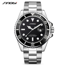 SINOBI fashion luxury automatic date-steel Men's Watch