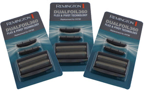 Remington F4790 foil and cutter sets (Three sets.) STAR BUY! Also fits model F3900.