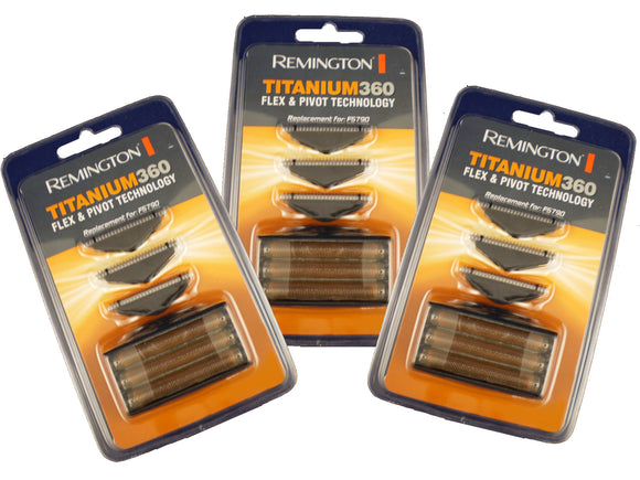 Remington F5790 foil and cutter sets (Three sets.) STAR BUY!