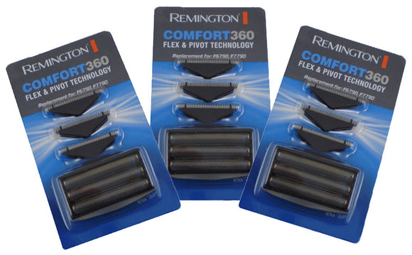 Remington F7790 foil and cutter sets (Three sets.) STAR BUY!