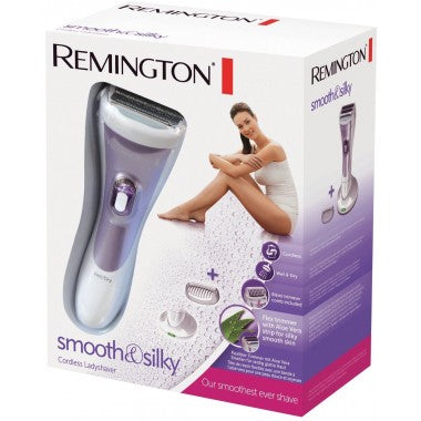 Remington WDF4840 cordless wet/dry shaver. Plus spare foil and cutter set!