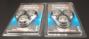 R8150, R5130, 360 Titanium Series Head, Cutter & Frame set by two sets