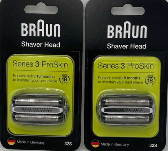 Braun (32S) Series 3, Foil and cutter cassette by 2 Star buy!