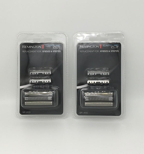 Two sets of Remington Foil and Cutters to fit the Capture Cut shaver range XF8505, XF8705, XF8707