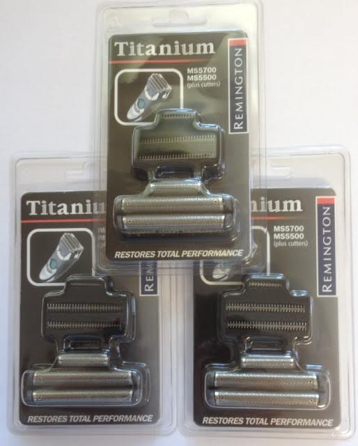 Remington Foil & Cutter Pack set to fit the MS5 range of shaver. (Three sets) STAR BUY!