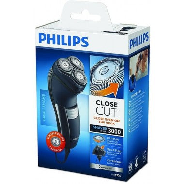 Philips Mains shaver plus a spare head and cutter set