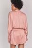 ZAM Organic Silk Robe in Rose