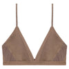 ZAP Organic Silk Soft Bra in Mocha