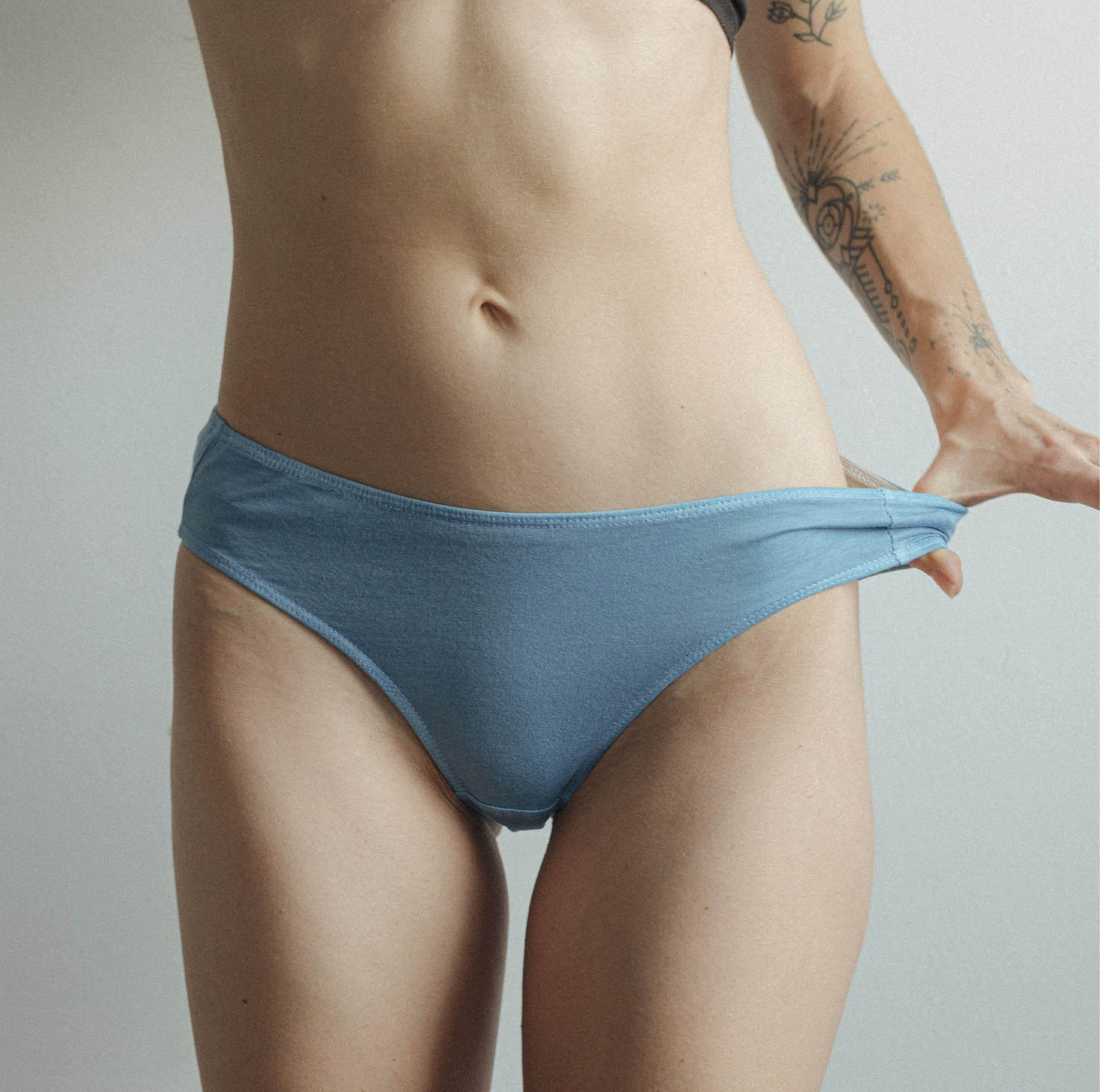 Botanical Color Trio ~ 3 Organic Pima Cotton Briefs