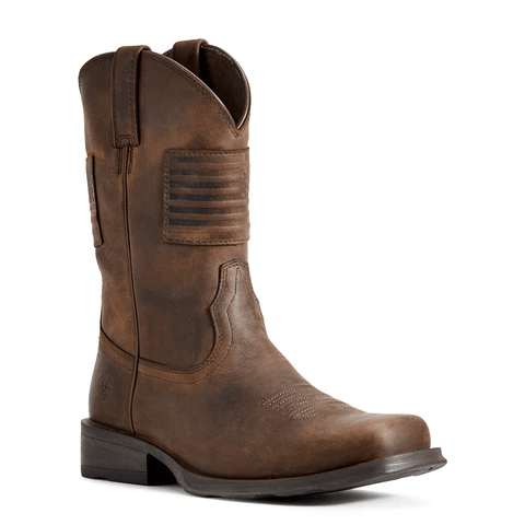"Ariat Men's - Rambler® Patriot 11"" - Square toe boots ARIAT INTERNATIONAL, INC."