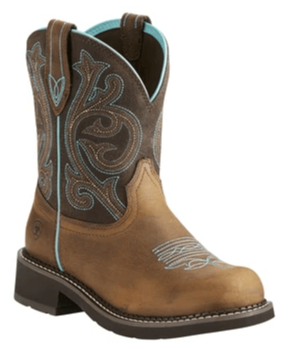 "Ariat Women's - Fatbaby® Heritage 8"" - Round toe boots ARIAT INTERNATIONAL, INC."