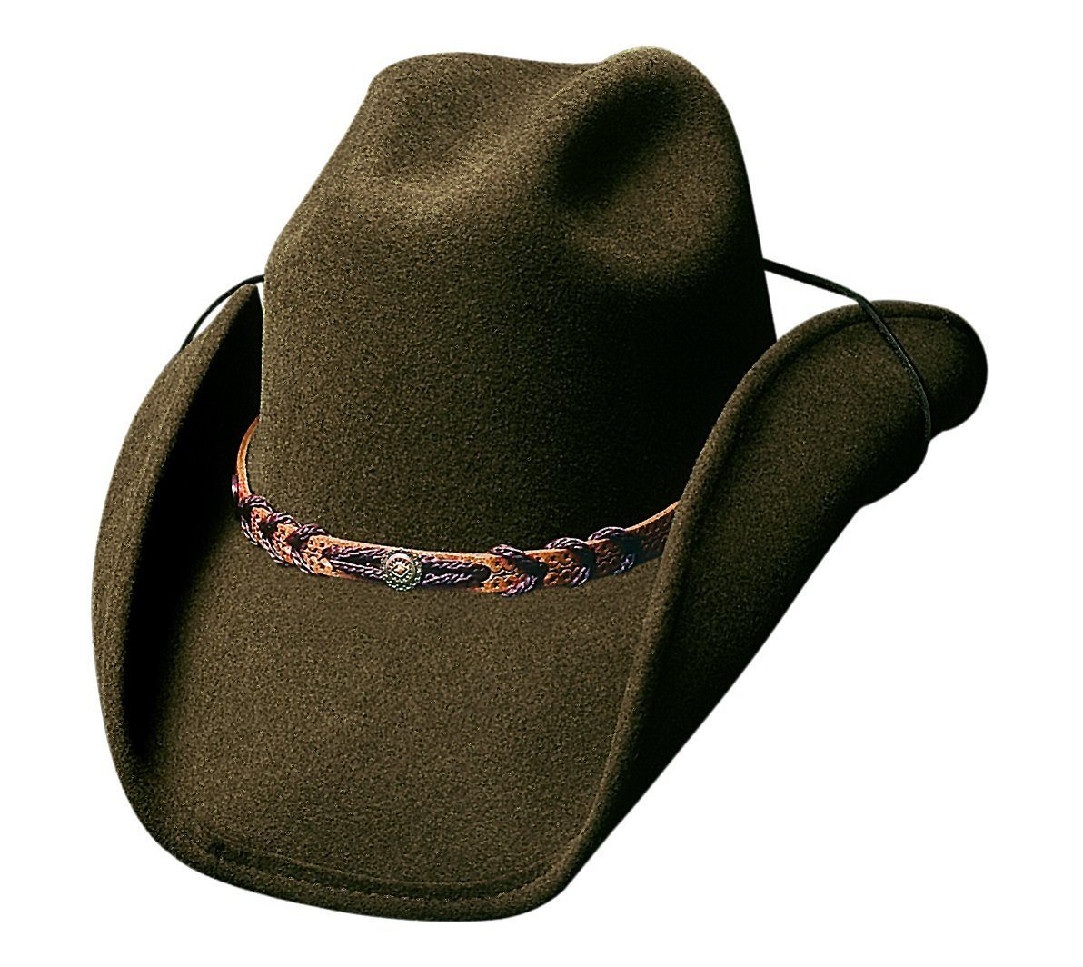 Bullhide Hats Montana – Brown Cowboy/girl Hat accessories BULLHIDE HAT CO.