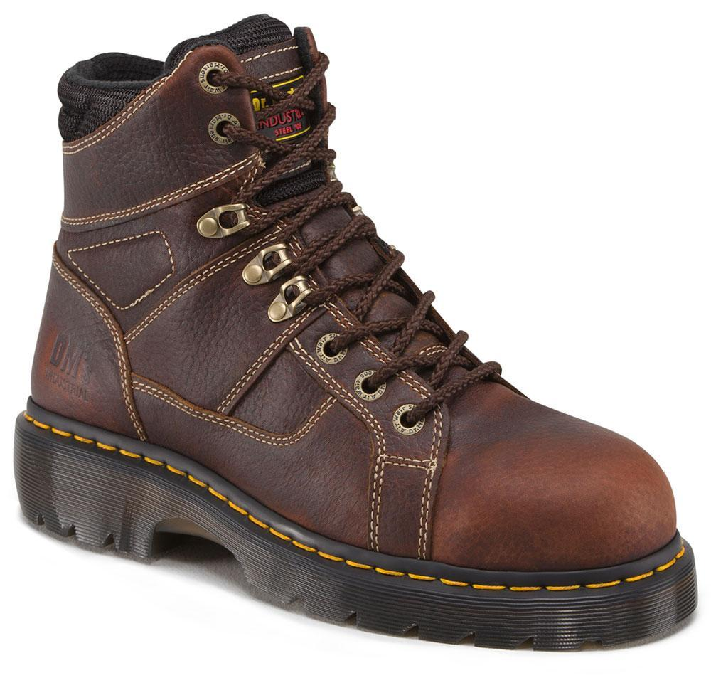 Dr. Marten Men's Ironbridge Teak Trailblazer - Steel Toe boots DR.MARTENS AIRWAIR USA
