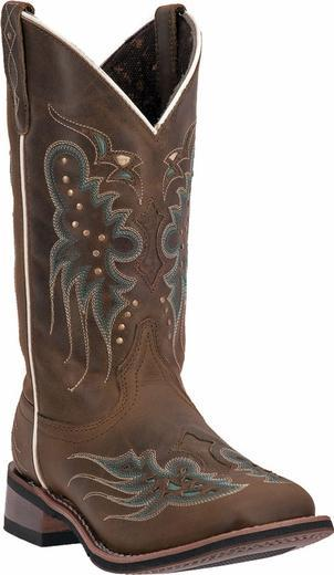 "Laredo Women's 11"" Sadie – Square Toe boots DAN POST BOOT COMPANY"