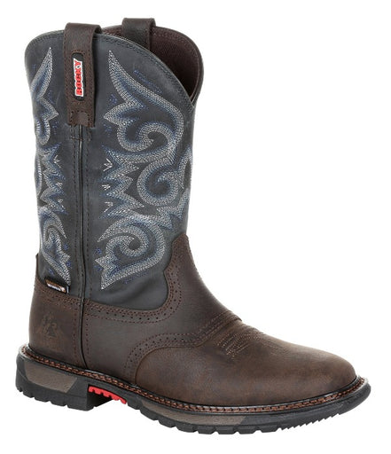 "Rocky Women's - 10"" Original Ride FLX Western Waterproof - Square toe boots ROCKY SHOES & BOOTS INC"
