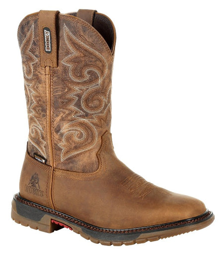 Rocky Women's - Original Ride FLX Waterproof - Square toe boots ROCKY SHOES & BOOTS INC