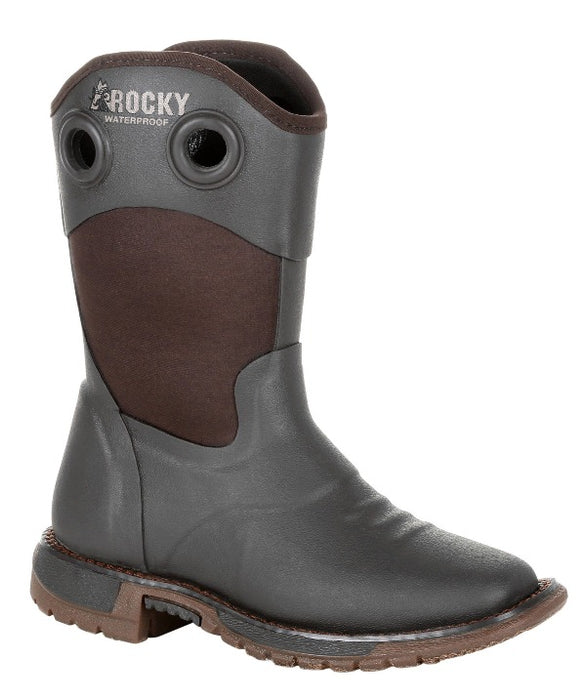 "Rocky Youth - 9"" Original Ride FLX - Square toe boots ROCKY SHOES & BOOTS INC"