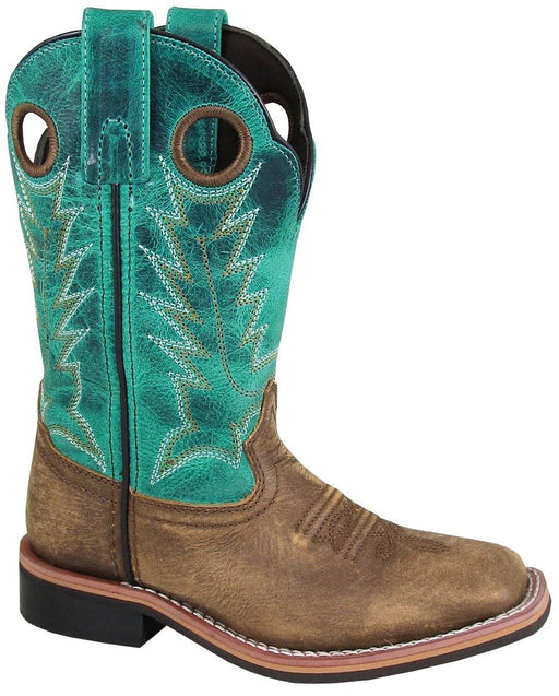 Smoky Mountain Big Kids - Jesse Western Boot - Square Toe boots SMOKY MOUNTAIN BOOTS