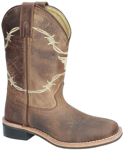 Smoky Mountain Kids - Logan Western Boot - Square Toe boots SMOKY MOUNTAIN BOOTS