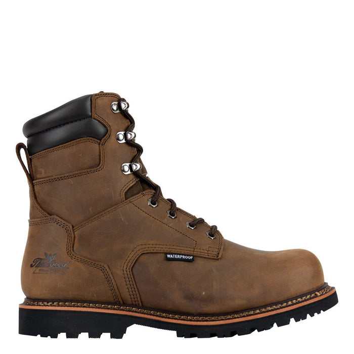 "Thorogood Men's - V-Series Crazyhorse 8"" Waterproof - Composite toe boots WEINBRENNER SHOE CO. INC"